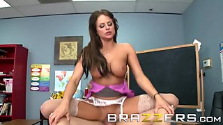 Brazzers - Xander Corvus -Getting Head from his teacher Brooke Belle