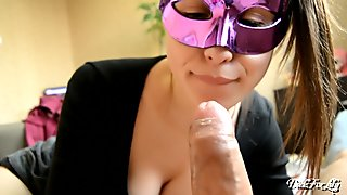 Sensitive explores tongue and lips my foreskin powerful cumshot Day 13 M&M