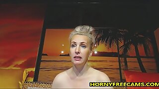 Anal Vaginal And Oral Masturbation For Busty Mature
