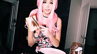 Belle Delphine gets a HELPING HAND