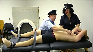Tickle Torture Tickle Interrogation Cops