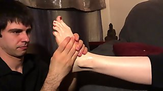 Foot Service Massage